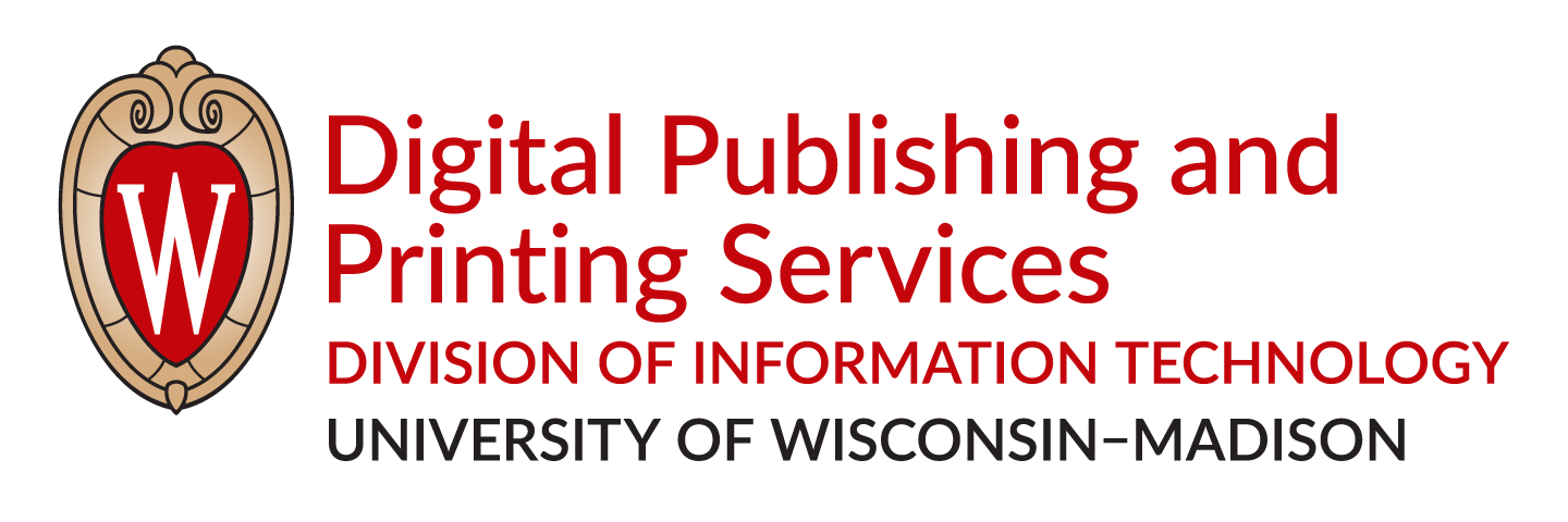 UW DoIT Digital Publishing & Printing Services