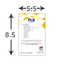 5.5x8.5 Brochure
