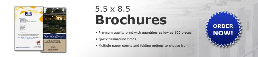 5.5x8.5 Brochures