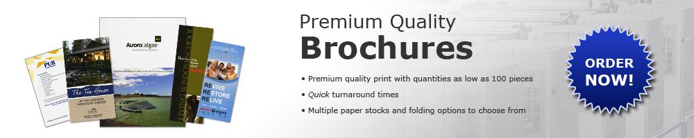 Premium Quality Brochures